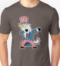 Uncle Sam Unicorn Dab Shirt Dabbing Funny Magic Hip Hop T-Shirt For Men, Women, and Kids T-Shirt