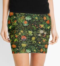 Calming Pokemon in a grassy walk Mini Skirt