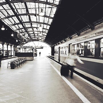 Train Station by domcia