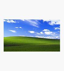 windows XP bliss Photographic Print