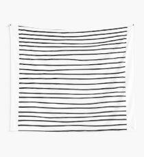 Tela decorativa Moderno simple patrón de rayas negro blanco moderno