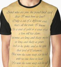 House Lannister Graphic T-Shirt