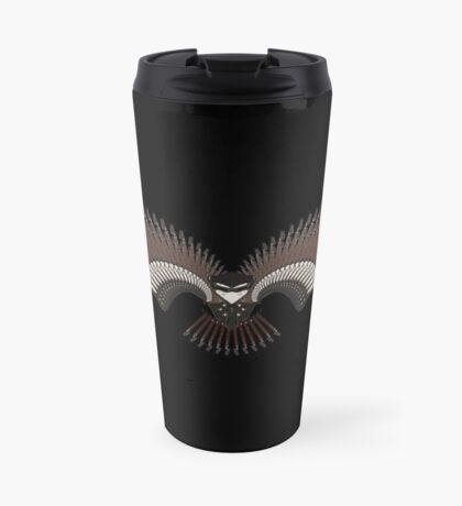 Guitar Bird Travel Mug