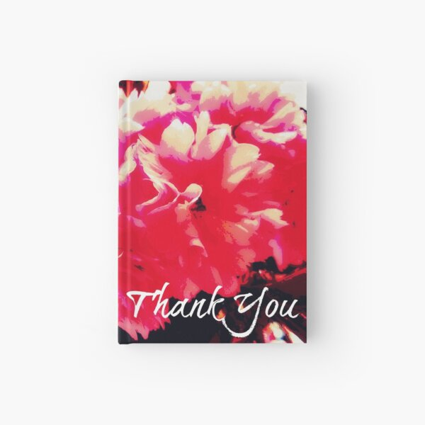 Thank You Pink Blossoms Hardcover Journal