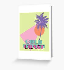80s travel Greeting Card