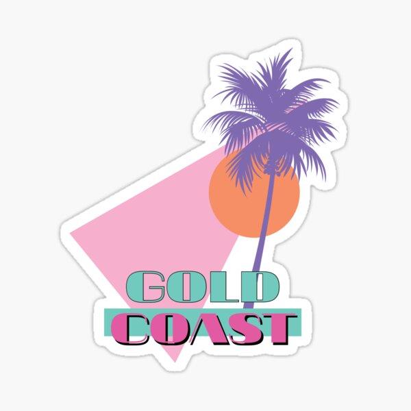 80s travel Sticker