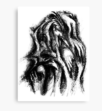 Touching Hands Canvas Print