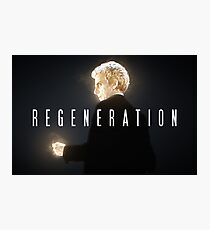 Doctor Who | Regeneration Photographic Print