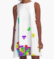 Tetris A-Line Dress
