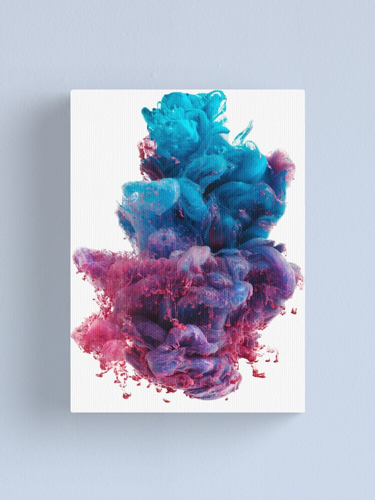 Alternate view of Dirty Sprite 2 - DS2 on white background Canvas Print
