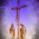 Frauen standen in der Nähe des Kreuzes (am besten groß angesehen) von Marie Sharp