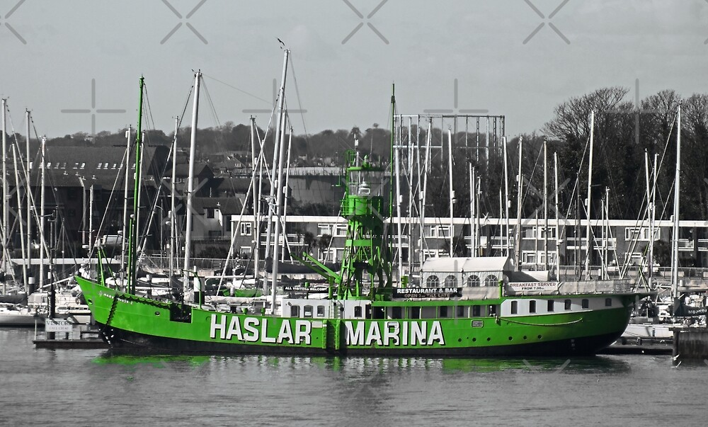 Trinity Lightship, Haslar Marina, Gosport by Yampimon