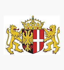 Neuss coat of arms, Germany Photographic Print
