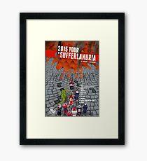 Tour of Sufferlandria 2015 Framed Print