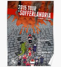 Tour of Sufferlandria 2015 Poster