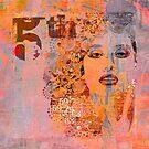 Wild Woman Female Mixed Media Art by artsandsoul
