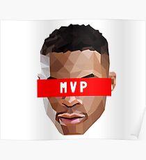 2017 NBA MVP Poster