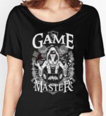 Weiblicher Spielmeister - Weiß Loose Fit T-Shirt