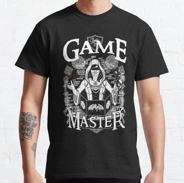 Female Game Master - White Classic T-Shirt