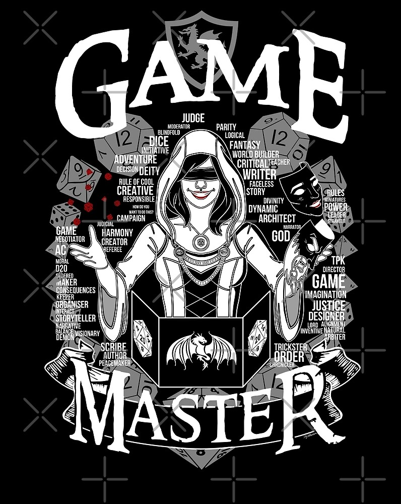 Female Game Master - White by Milmino