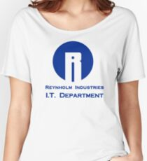 The I.T. Crowd Reynholm Industries Women's Relaxed Fit T-Shirt