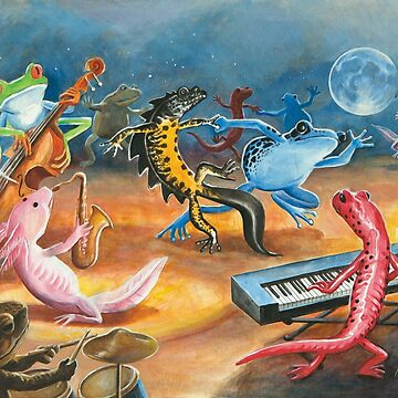 Salamander Jazz Band Ball 3 by DanielLoveday