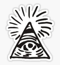 Illuminati Sign - Before the Storm - Life is Strange Sticker