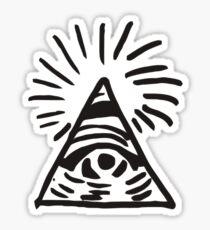 Illuminati Sign - Before the Storm - Life is Strange Sticker