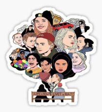 Skam Art Sticker