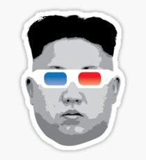 Kim Jong Un Head Sticker