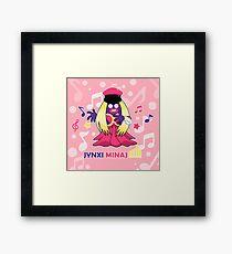 Jynxi Minaj  Framed Print