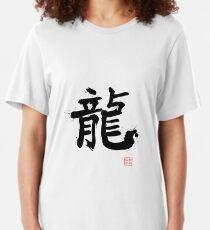 Kanji - Dragon Slim Fit T-Shirt