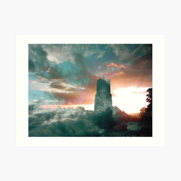 Church in the Sky Art Print