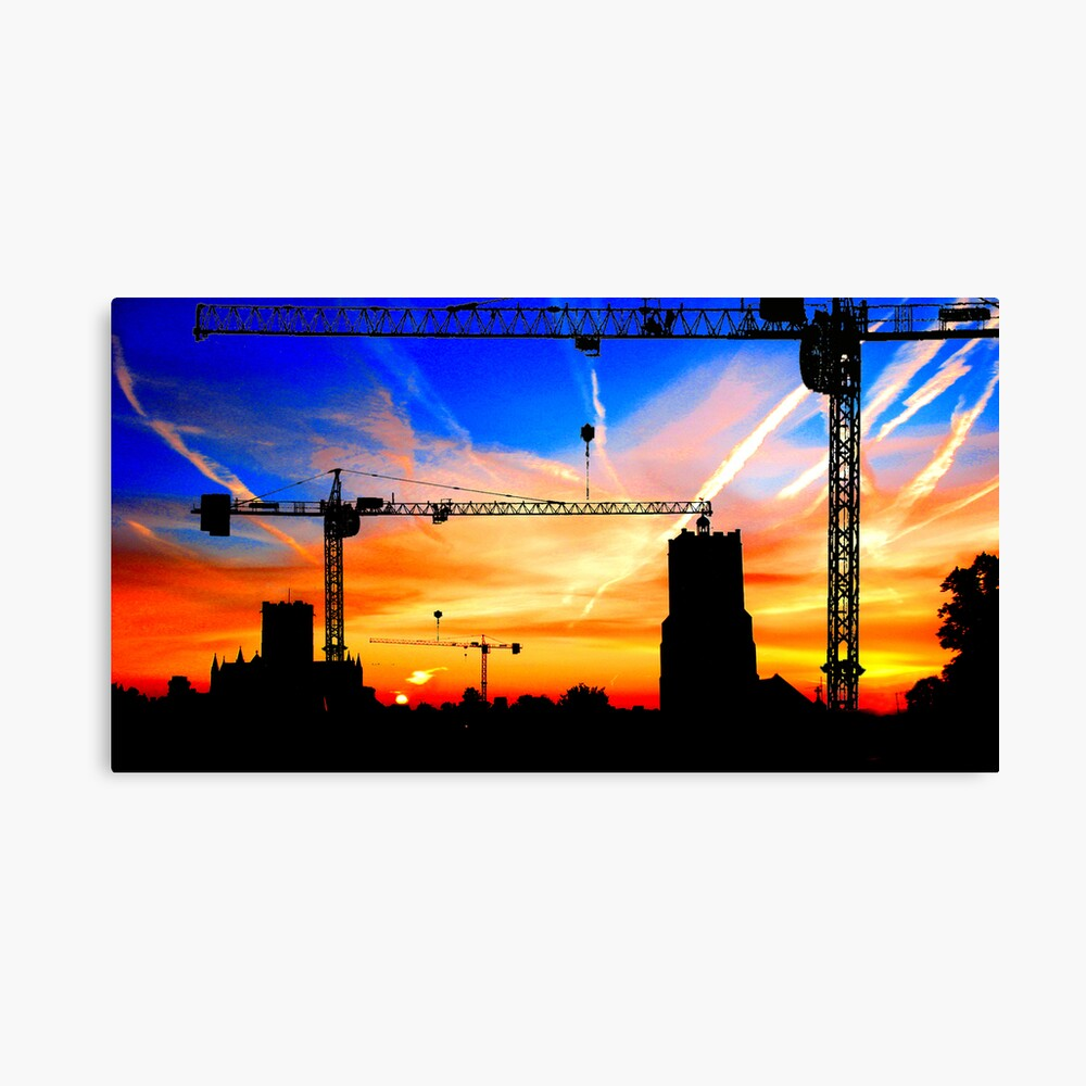Building Buildings Canvas Print