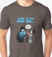 Lado luminoso Vs Lado oscuro Camiseta unisex