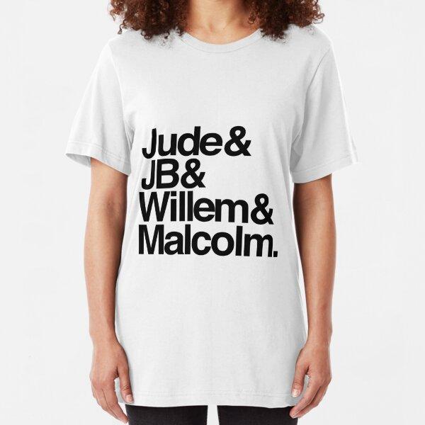 Jude&JB&Willem&Malcolm Slim Fit T-Shirt