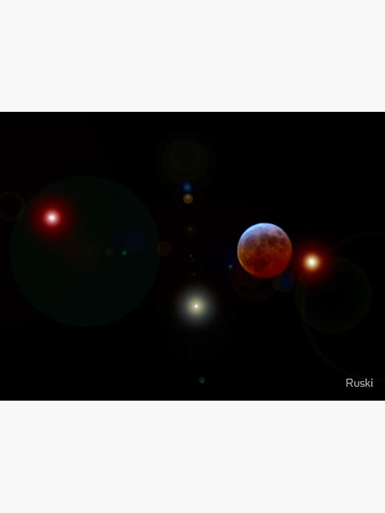Lunar Eclipse by Ruski