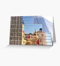RT14 - Las Vegas Nevada - Excalibur Reflections Greeting Card