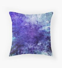 Abstract Indigo Throw Pillow