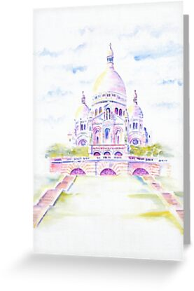 Sacre Coeur by artlilly