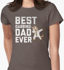 Best Dabbing Dad Ever Tee Dab Unicorn Hip Hop Gift T-Shirt For Men, Women, and Kids T-Shirt
