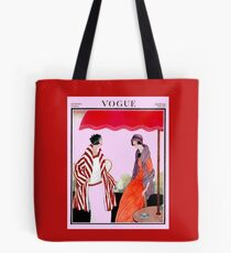 Vogue Vintage 1922 Magazine Advertising Print Tote Bag