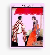Vogue Vintage 1922 Magazine Advertising Print Canvas Print