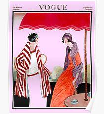 Vogue Vintage 1922 Magazin Werbung Print Poster