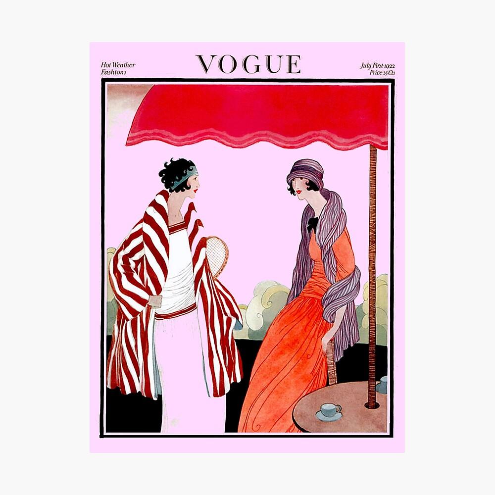 Vogue Vintage 1922 Magazin Werbung Print Fotodruck