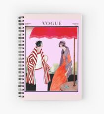Vogue Vintage 1922 Magazine Advertising Print Spiral Notebook