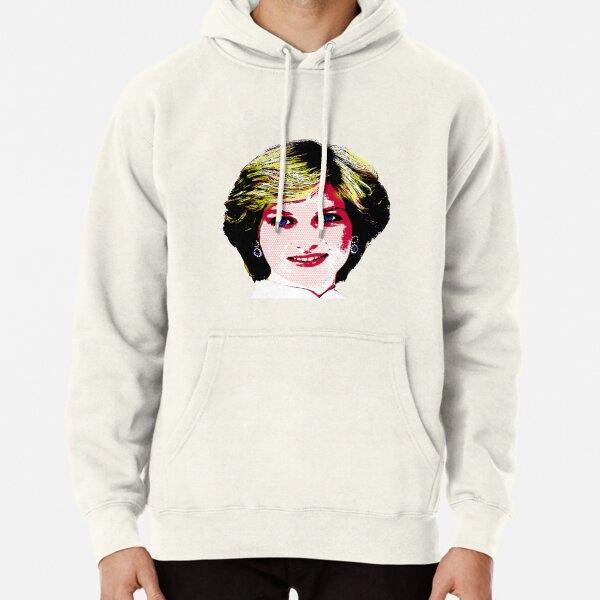 Diana Pop Art Pullover Hoodie