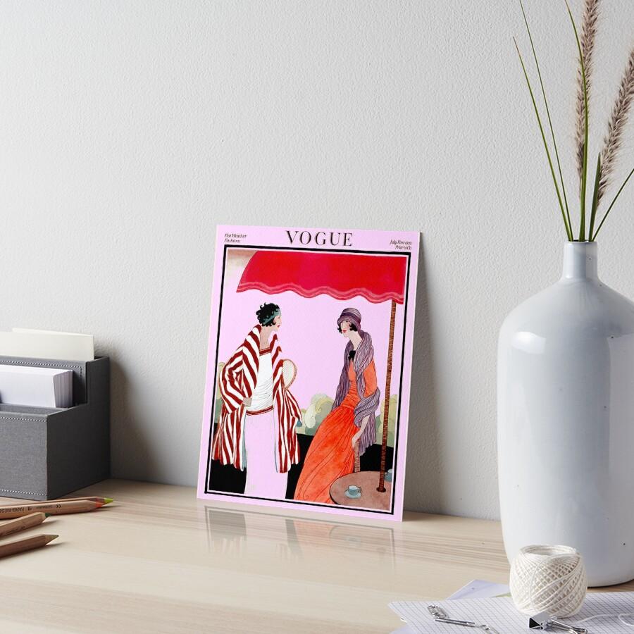 Vogue Vintage 1922 Revista Publicidad Publicidad Lámina rígida