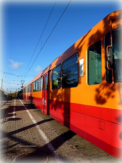 Uetliberg Bahn by Charmiene Maxwell-Batten