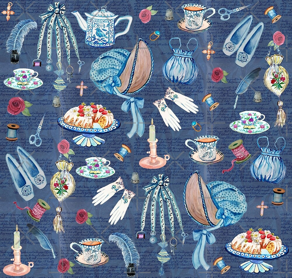 Jane Austens favourite things  by MagentaRose